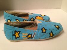 Toms Womens 6.5 Decorative Classic Canvas Slip On