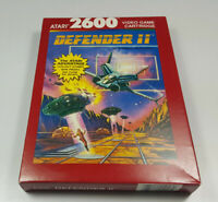 DEFENDER II ~ VCS ATARI 2600 NTSC Spiel Boxed NOS New NTSC USA Collectible NEU