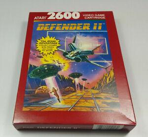 DEFENDER II ~ VCS ATARI 2600 NTSC Spiel Boxed NOS New NTSC USA Collectible NEU