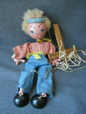 Vintage Pelham puppets Made in England marionette Jumpette Boy