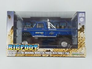 Bigfoot #1 The Original Monster Truck Diecast 1:43 Scale by Greenlight 86097