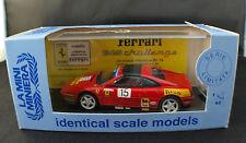 La Mini Minera 9315◊ Ferrari 348 Challenge 93' Diego Feola◊1/43 boxed /boîte MIB