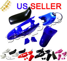 Plastic Fender Body Seat Gas Tank Kit Yamaha PW50 PY50 Blue red black pink white