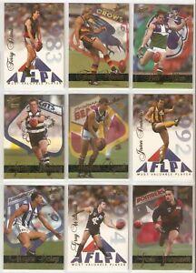 Select 1995 AFL Sensation Single Cards - You Choose