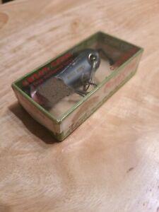 Vintage Creek Chub Fishing Lure Mouse Black With Box