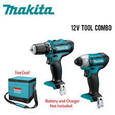 """Makita  FD05 DT03 TOC 12V Tool Combo """"A Grade"""" & Contractor Bag w/Full Warranty"""