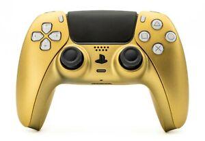 Sony PS5 / PlayStation 5 DualSense Wireless Controller - Custom Gold Matt