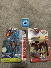Starscream & Windblade Lot Transformers Robots in Disguise Warrior Rid G1 Colors