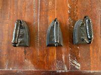 Vintage Sad Irons #7,#6,UXX6 (Flat Irons)