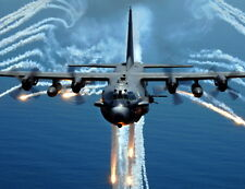 New 8x10 Photo: AC-130H Spectre Aircraft of the 16th Special Operations Squadron