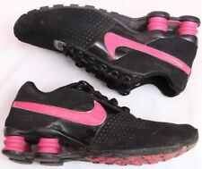 a21bee4f8e8 Nike 318145-006 Deliver (GS) Black Leather Lace Up Athletic Girl s U.S. 5
