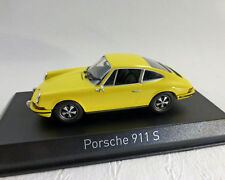Porsche 911 S, jaune, NOREV 1:43