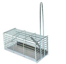 Trappola cattura tradizionale per topi e ratti a galleria cm 30X16X12H soffitte