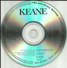 KEANE Sovereign Light Cafe Ultra Rare TST PRESS 2012 USA MINT PROMO DJ CD single