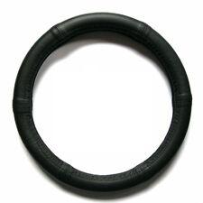 Lenkrad Bezug echtes Leder schwarz für Lenkräder 37 - 39 cm Durchmesser