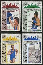 Samoa   1992   Scott #811-814   MNH Set