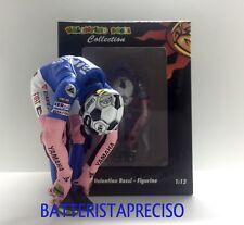 MINICHAMPS VALENTINO ROSSI 1/12 FIGURE STRETCHING YAMAHA 2008 BARCELONA 504 PCS