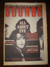 SOUNDS 1988 JAN 30 ALL ABOUT EVE MEGADETH FAITH NO MORE