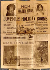 1890s CHILDREN BOOK ADVERTISING BROCHURE