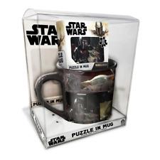 63pc Star Wars Kids Toy 6y 27.5cm The Mandalorian Jigsaw Puzzle & 9cm Mug Set