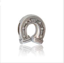 2p Silver Big hole alloy Bead Fit European Charm Bracelet & Necklace