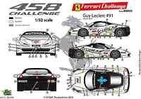 [FFSMC Productions] Decals 1/32 Ferrari F-458 Challenge 2012 de Guy Leclerc