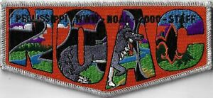 OA Pellissippi Lodge 230 2000 NOAC Staff Flap SMY Bdr. GSMC, TN [MX-13788]