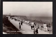 Seaburn near Sunderland - North Promenade - real photographic postcard