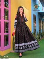 Women Kurti Kurta Indian Bollywood Tunic Designer Long Dress Top Bottom Gown New