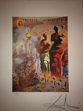 Salvador Dali Litografia - Plate signed - Edition 2000 Ex.