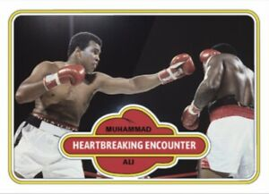 2021 TOPPS MUHAMMAD ALI THE PEOPLE'S CHAMP CARD #78 HEARTBREAKING ENCOUNTER