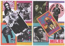 10 BLUES & JAZZ POSTCARDS B.B. King, Robert Johnson, Charlie Mingus, Miles Davis