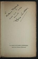 1931 Blaise Cendrars Aujourd'hui Année EO Envoi autographe à Octave Uzanne