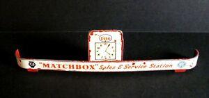 Matchbox Lesney Service Station Sign for MG1-B 1961 ESSO Service Station