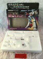 Vintage 1984 Hasbro Transformers G1 PreRub Megatron Original Issue Box Tech Spec