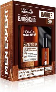 Loreal Mein Expert Barber-Club Bartpflegeöl und Bartshampoo - Neu!
