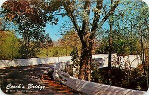 Coochs Bridge Christina River Newark Delaware DE Postcard