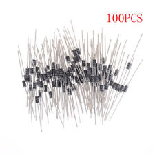 100PCS 1N4001 IN4001 DO-41 1A 50V Rectifier Diodes DJ