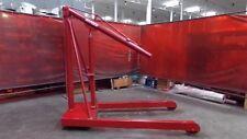 Hoosier 4000 lb Hydraulic Crane Engine Hoist Model 4000