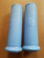 Piaggio Vespa Scooter rubber Grips blue
