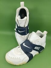 Nike Air Veer Basketball Sneakers Men's Shoes Leather White 599442-103 Size 12.5
