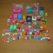 SHOPKINS Bulk Mixed Lot of Small Mini Figures & McDonald's Happy Meal Toy Bundle