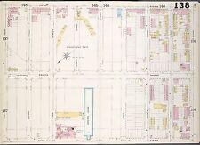 1899 SANBORN, PARK SLOPE, BROOKLYN DODGERS, WASHINGTON PARK COPY PLAT ATLAS MAP