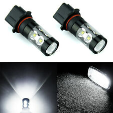 JDM ASTAR 2x 1200LM P13W 50W LED Fog DRL Driving Lights Bulbs Lamps Xenon White
