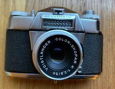 Voigtlander Bessamatic SLR Film Camera w Color Skopar X 50mm f2.8 Lens Germany