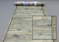 Fleece Wallpaper 861419 Rasch Wood Floor Boards Brown Grey AL
