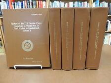 5 Vol Set: History U.S. Marine Corps Operations WWII Volumes 1-5 1989 Reprint Ed