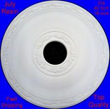 Resin Ceiling Rose Centre Diameter 40.5 cm 16 inch - Not Polystyrene - July