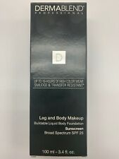 Leg and Body Makeup, DERMABLEND, 3.4 oz 10N Fair Ivory, Expires 07/20