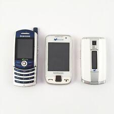 Lote SAMSUNG: GT-S5600 + SGH-Z240 + SGH-Z130 (Locked)